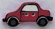 86313 - Red Car 1in x 1/2in - 1 per pkg